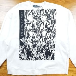 Adidas x Stella Mccartney Python Crewneck Sweater